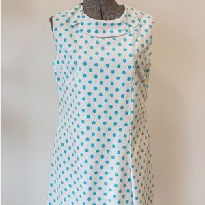 Dresses & Skirts - 1960s VINTAGE Polka Dot Shift Dress